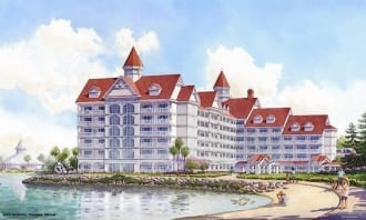 Disney World confirm the Grand Floridian DVC project