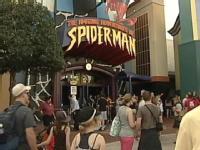 Spiderman Ride Reopens At Universal Studios