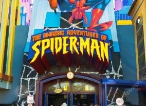 Universal Orlando SpiderMan Ride Review